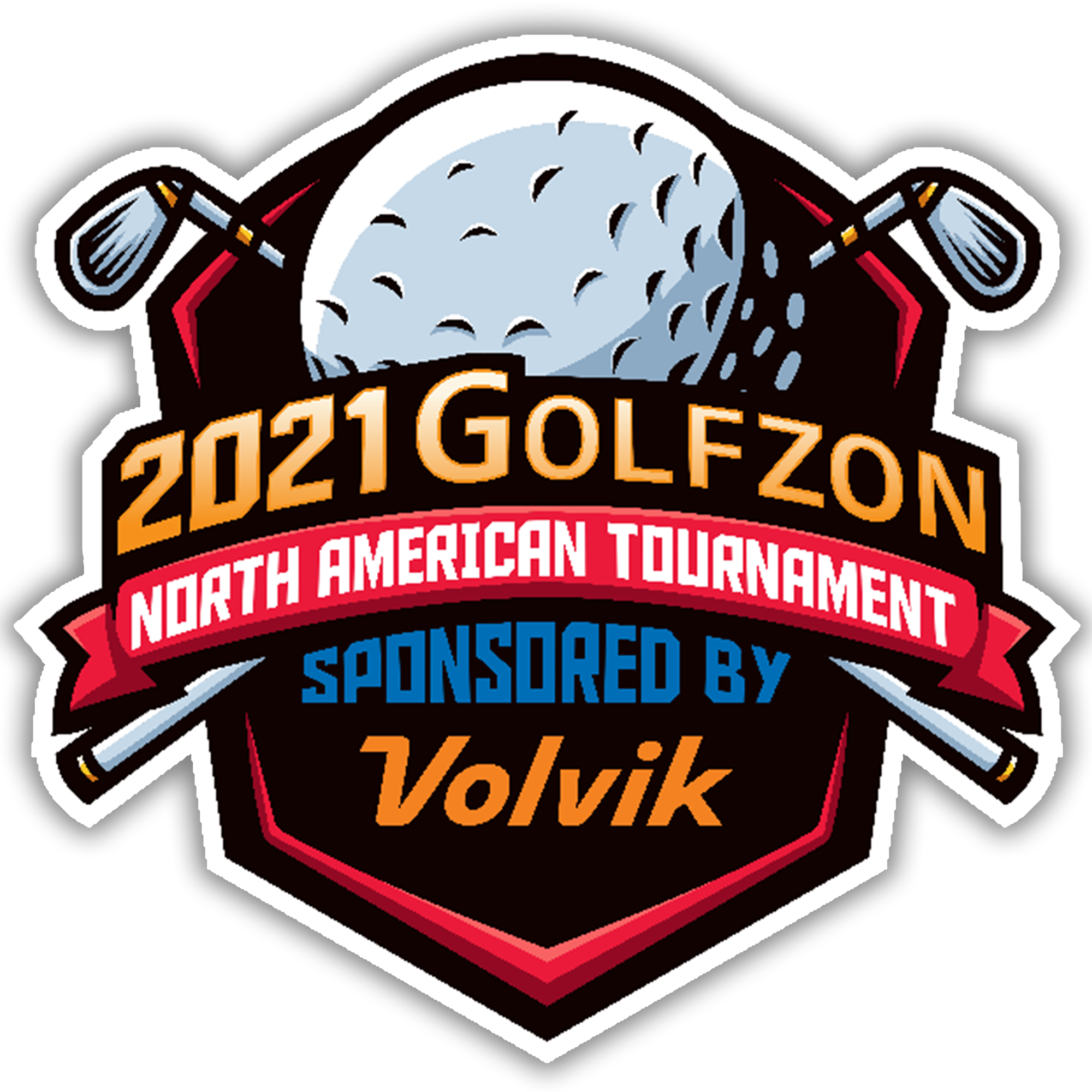 Golfzon North American Tournament Logo